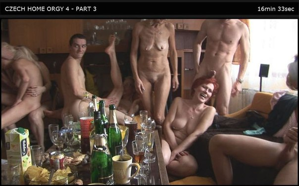 Czech Home Orgy 04 Part 3