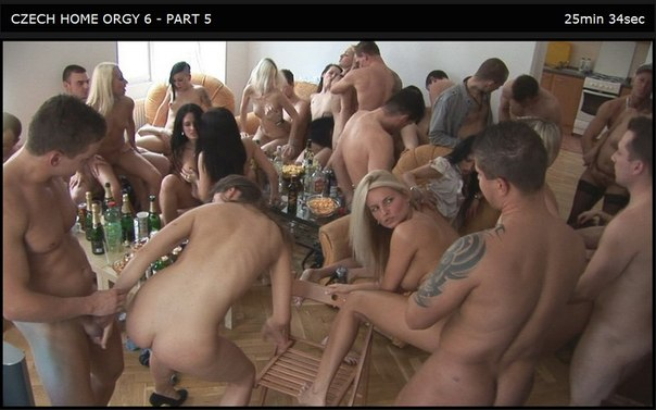 Czech Home Orgy 06 Part 5