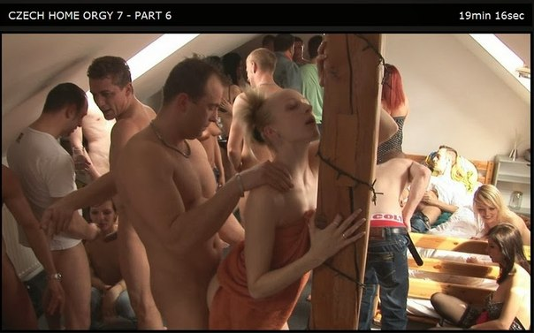Czech Home Orgy 07 Part 6