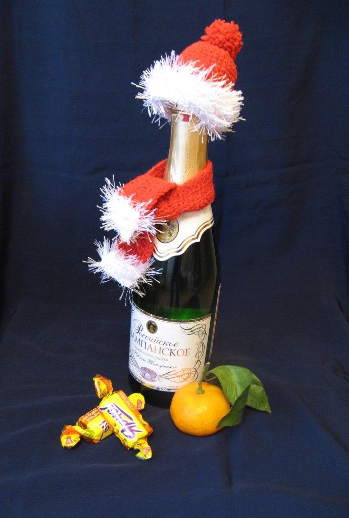 Мастер класс шапочек для шампанского