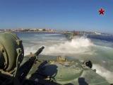 Высадка морского десанта в Крыму / Amphibious landing in the Crimea