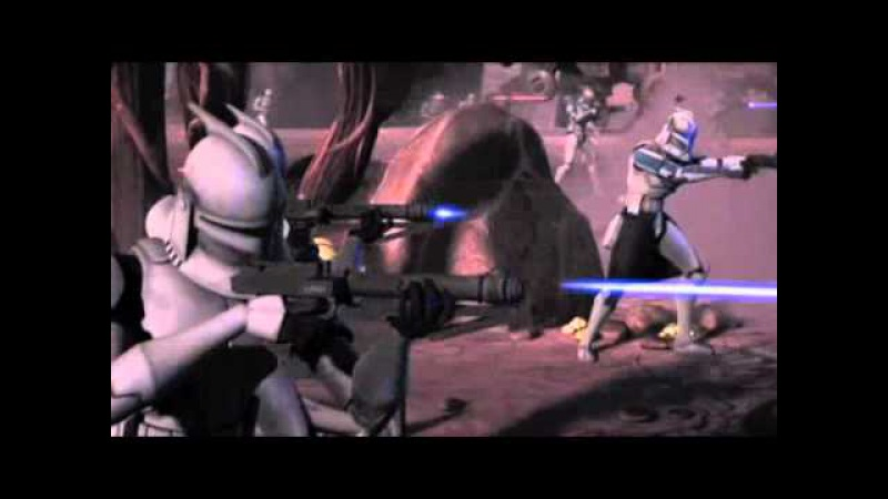 Clone Wars - Clone Troopers 10th man down