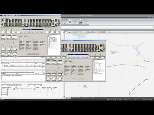 MSFSX   Руководство по Ту-154Б-2 (о том, как я летаю на нем) Часть 1