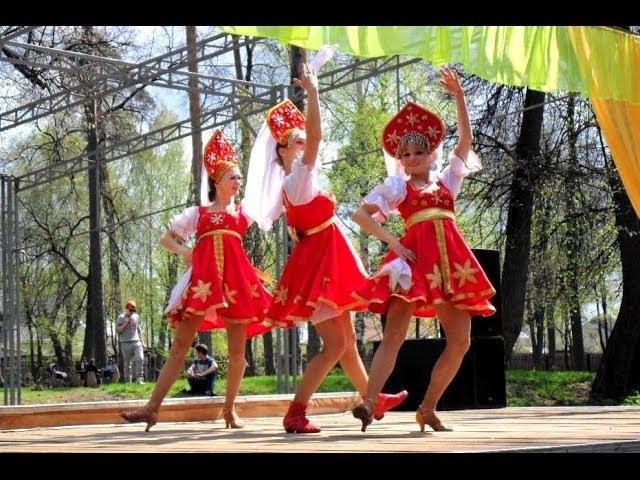 Праздник весны / Русский-народный танец. Танцевальное шоу ДЕЖАВЮ г.Выкса