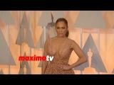 Jennifer Lopez Oscars 2015 Fashion Arrivals