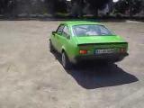 Opel Kadett C Coupe Driften von 14-Jährigen +Sound Teil 1