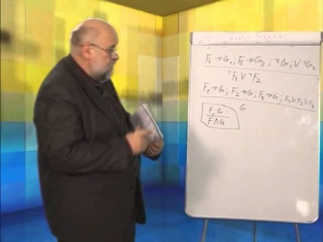 Лекция 11: Правила логических умозаключений. Модусы. (Часть 1)