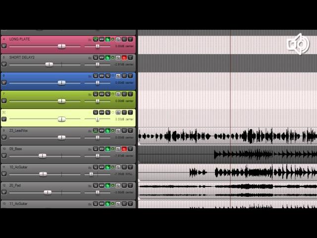 Обработка вокала - акустическое окружение