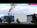 Kronospan Mielec - пожар 15 мая 2015