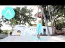 Laruga Glaser Ashtanga Yoga Demo in Mysore part1