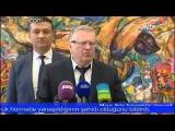 Жириновский Баку Азербайджан поездка визит Аллея почётного захоронения венок вечный огонь 2014