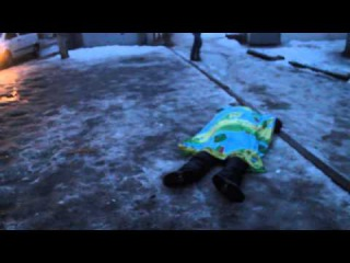 Последствия обстрелов Донецка. 21.01.15 Строго 18+