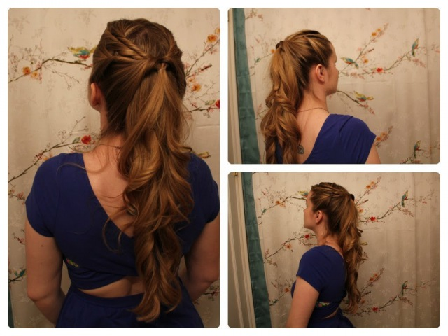 Game of Thrones Inspired Hair: Margaery Tyrell's Half Ponytail.