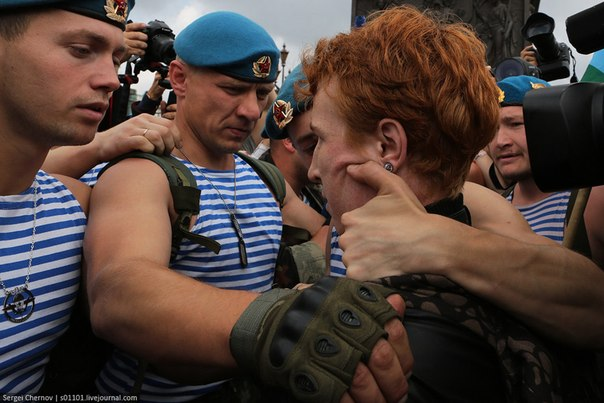 Юрий Гавриков также подтвердил эту информацию: ЛГБТ пикет на Дворцово