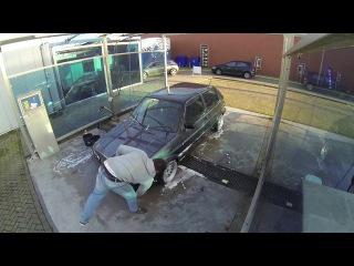 Volkswagen Golf MK2 car wash