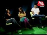 Актеры Dulha Mil Gaya на шоу  Aaj Tak. 2