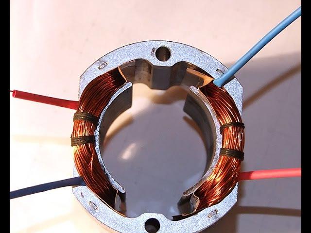 Ремонт электроинструмента. Перемотка статора (катушек возбуждения) часть1.