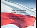 Polish National Anthem - Jeszcze Polska Nie Zginęła (PL/EN)