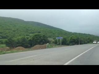 выехал на встречку авария Дагестан лезгинская песня Кавказ приора драка стрельба природа горы
