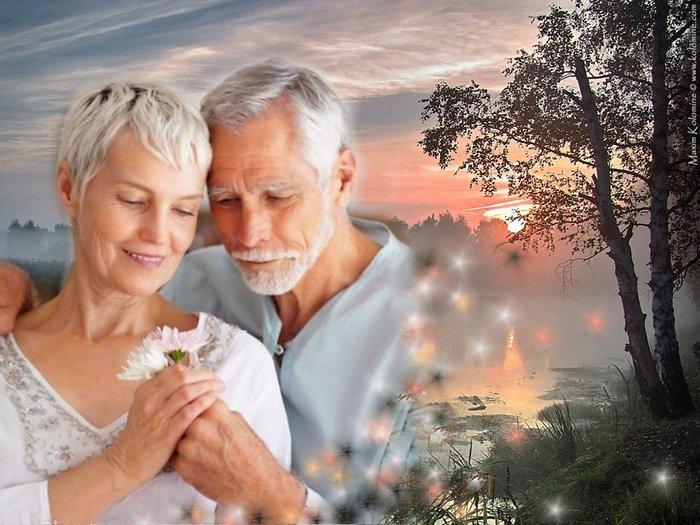 Любовь до старости, бабушка и дедушка любовь