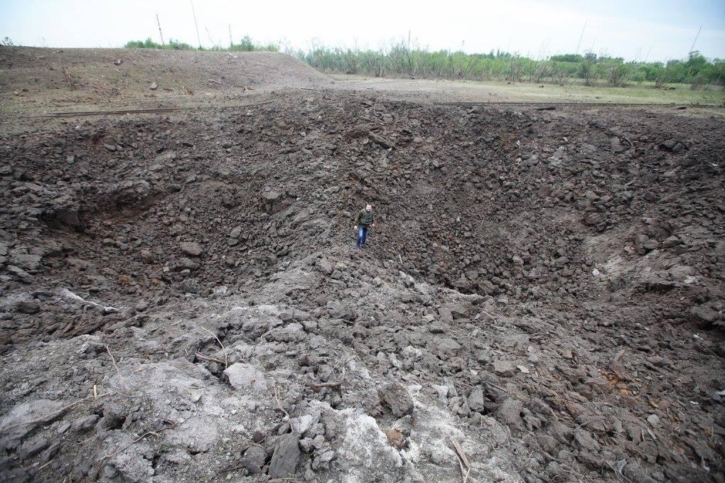 Боевики будут обстреливать Марьинку постоянно, поскольку она имеет стратегическое значение, - Лысенко - Цензор.НЕТ 6034