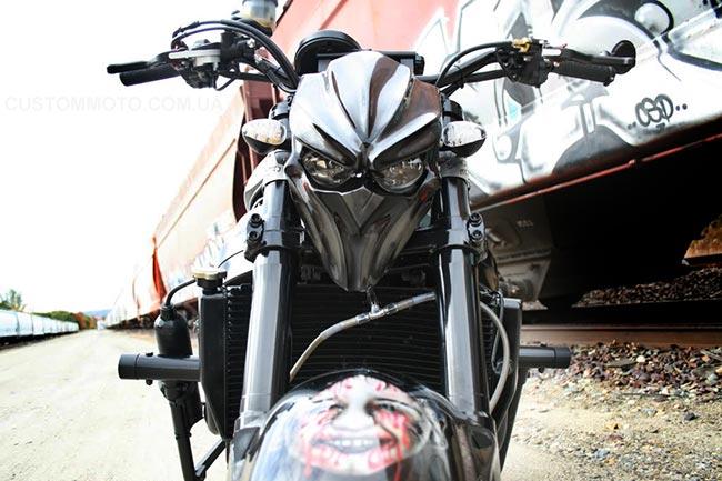 Морда на мотоцикл своими руками