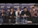 One Direction no se cortan con Uri y Daniela [RUS SUB]