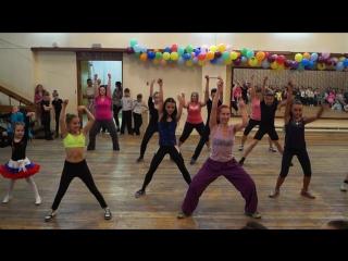 Закрытие сезона 2015. Зумба. Танец