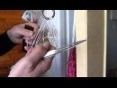 Самый простой и быстрый способ плетения рыболовной сети. часть1. Fishing Net making
