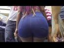 Astonishing Apple Bottom In Jean Shorts Candid Booty