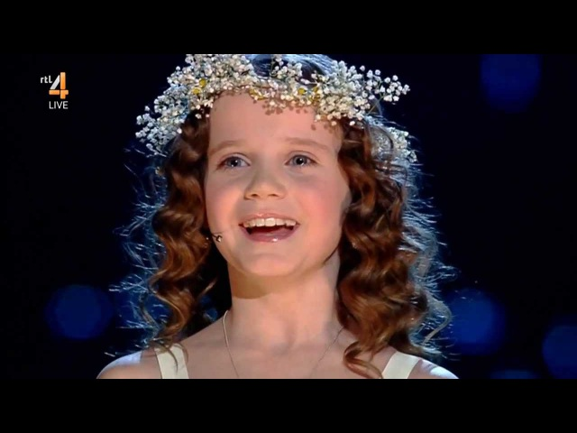 Amira Willighagen - Ave Maria (HD Quality) - Semi-Finals Holland's Got Talent - 21 December 2013