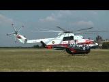 Mil Mi-26 landing &amp engine shutdown at Buda