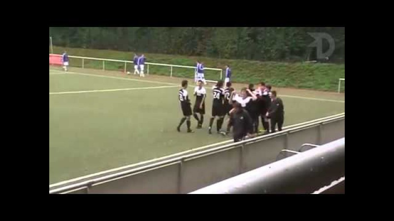 Tom Wagner German amateur soccer player Unbelievable volley goal