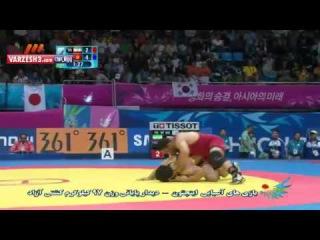 Reza Yazdani (IRAN) -Asian games 2014 - Wrestling Final