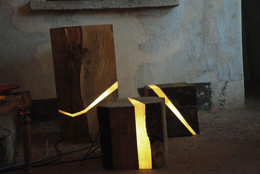 Необычный дизайнерский креативный светильник напольный