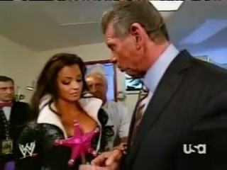 WWE RAW Candice Michelle  Vince McMahon Backstage Montage