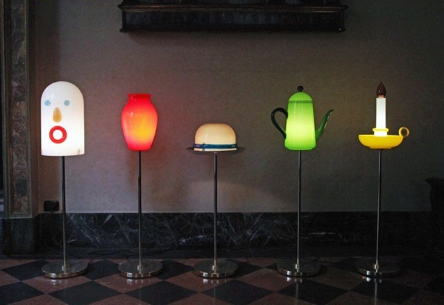 Необычный дизайнерский креативный светильник - торшер