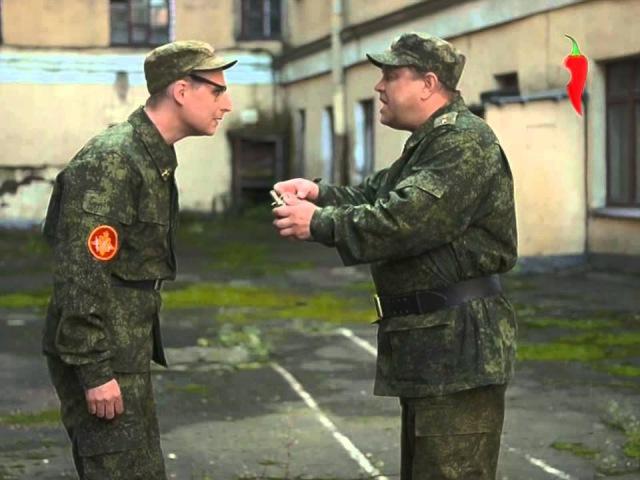 Анекдоты. Про армию - боевая граната
