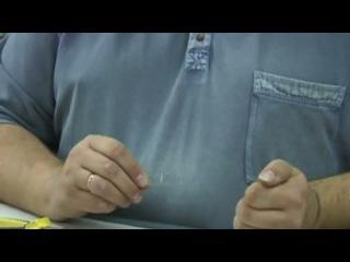 Оснащение донки с резиновым амортизатором