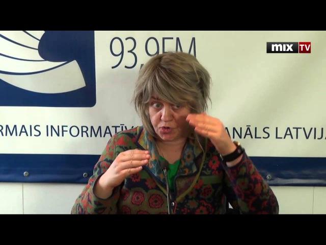 MIX TV: писатель Макс Фрай (Светлана Мартынчик) в программе Переплёт