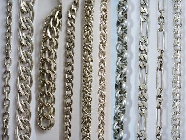 Все виды плетения золотых цепей фото и