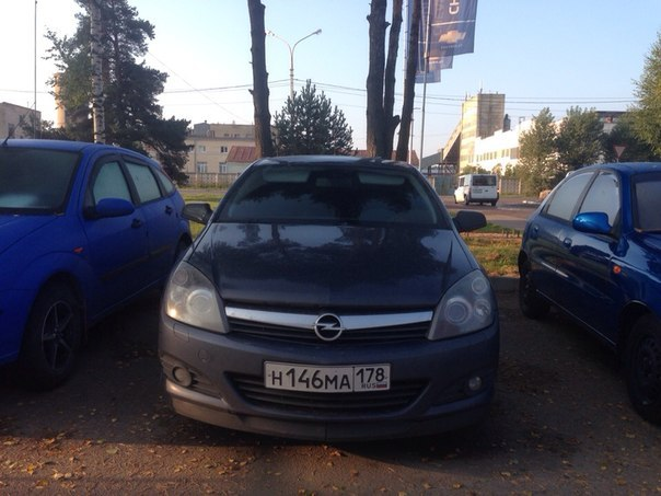 Opel Astra H GTC  Модификация: 1.8i (125Hp) Год вып: 2005 Тип двигателя: 1796 см³ / 125 л.с. / Бензин инжектор КПП: Механическая  320...