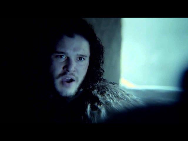 Game of Thrones Season 5 - Фрагмент 2 (Джон Сноу и Манс) RUS - MVO - OMSKBIRD