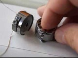 Ремонт швейной машинки шаг  3. Шпулька: натяжение и заправка