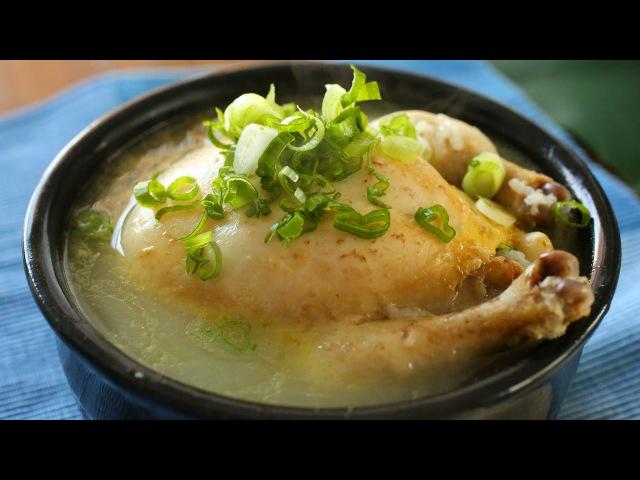 Ginseng Chicken Soup Samgyetang 삼계탕