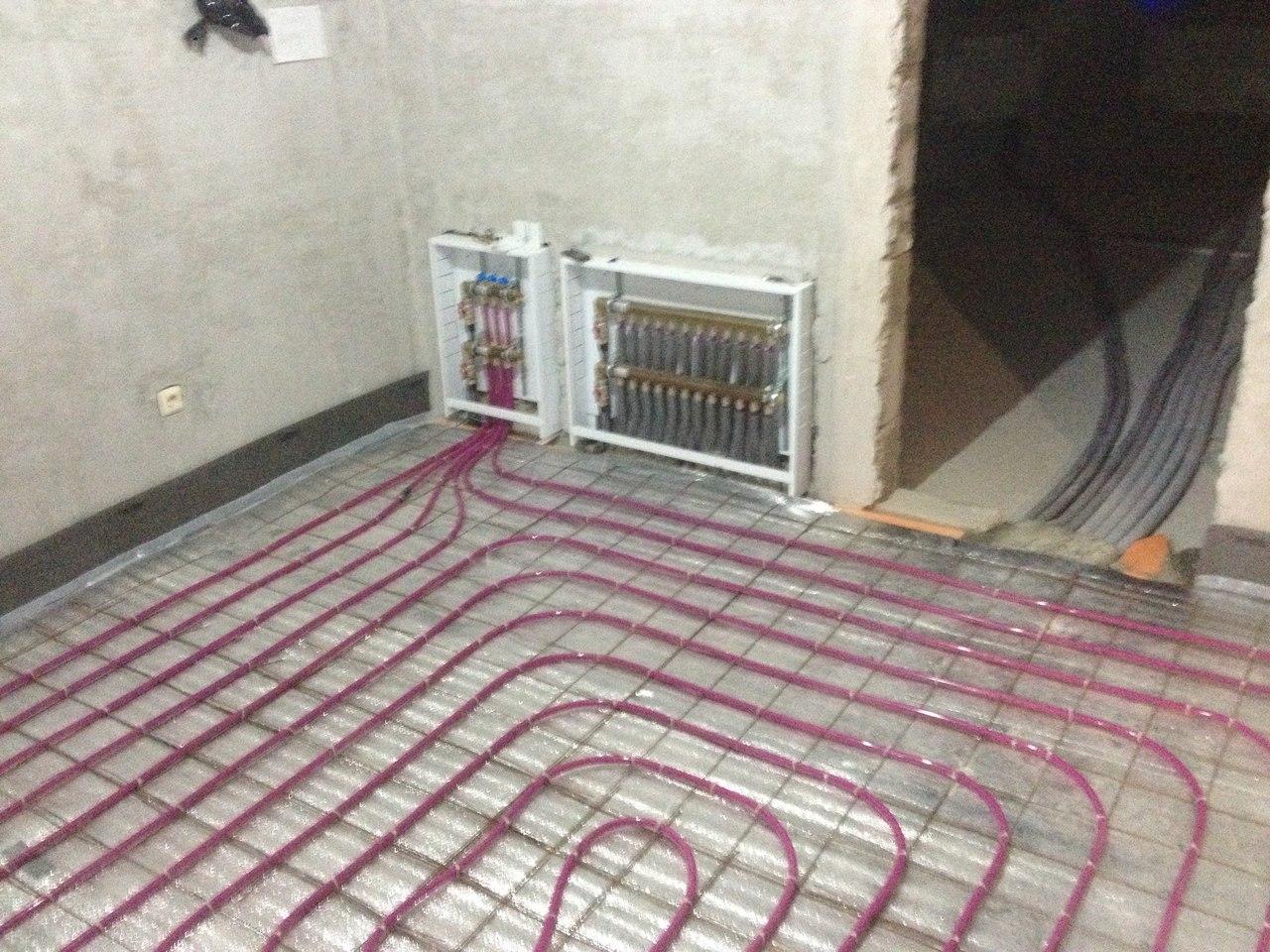 Система отопления загородного дома Гжель
