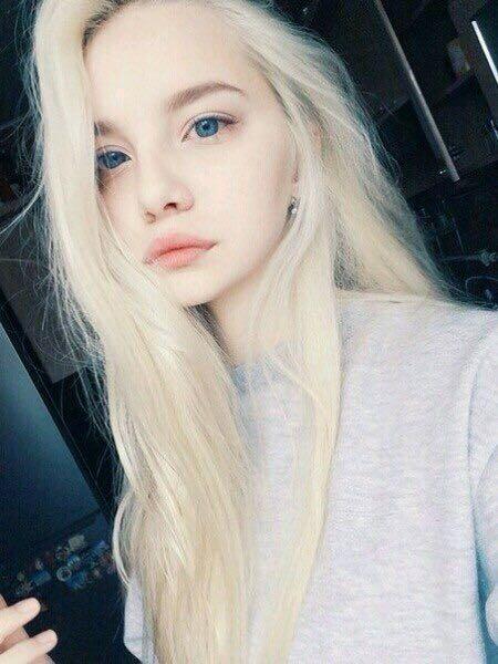 Светло-желтый цвет волос