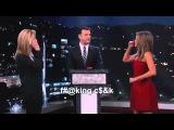 Дженифер Энистон и Лиза Кудроу играют в ругательства