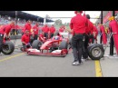 F1 Pit Stop and Burnouts at Ferrari Racing Days Sydney