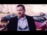 Эрик Давидыч Наваливает На Красном Кабриолете Мерседес SLS 63 AMG (Лето 2015)